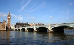 De Brug van Westminster Stock Foto