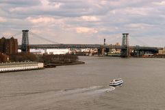 De brug van Williamsburg Royalty-vrije Stock Fotografie