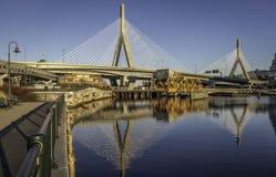 De brug van Zakim Stock Afbeeldingen