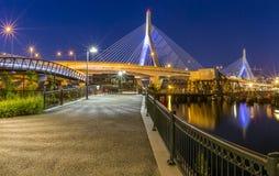 De brug van Zakim Stock Foto's