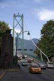 De Brug Vancouver van de leeuwenpoort Stock Afbeelding