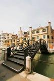 De brug in Venetië Stock Foto's