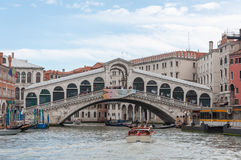 De Brug Venetië van Rialto stock foto's