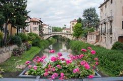 De bruggen van Vicenza Royalty-vrije Stock Foto