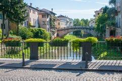 De bruggen van Vicenza Royalty-vrije Stock Foto's