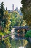 De bruggen van Vicenza Stock Fotografie