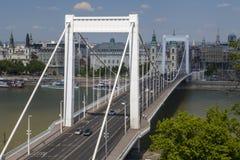 De bruggezoem van Boedapest Royalty-vrije Stock Afbeeldingen