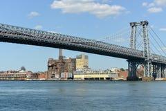 De Brugmening van Manhattan Stock Foto