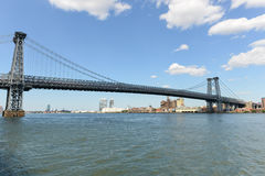 De Brugmening van Manhattan Royalty-vrije Stock Afbeeldingen