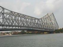 De Brugoriëntatiepunt van Howrah van Kolkata royalty-vrije stock afbeeldingen