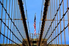 De Brugvlag van Brooklyn Royalty-vrije Stock Afbeelding