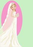 De bruid Stock Fotografie