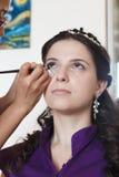De bruid maakt omhoog Royalty-vrije Stock Afbeelding