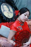 De bruid van Berutiful Stock Afbeelding