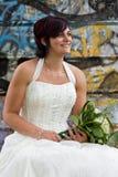 De bruid van Cheerfull Stock Afbeelding