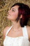 De bruid van Cheerfull Royalty-vrije Stock Foto's