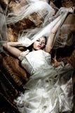 De bruid van de fantasie Stock Afbeeldingen