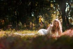 De bruid van de fee Royalty-vrije Stock Afbeeldingen