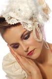 De bruid van de manier Royalty-vrije Stock Foto's