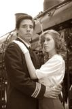 De Bruid van de oorlog Stock Fotografie