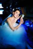 De bruid van de schoonheid Royalty-vrije Stock Afbeeldingen