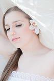 De bruid van de schoonheid Stock Fotografie