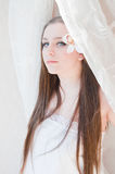 De bruid van de schoonheid Royalty-vrije Stock Foto's