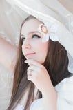 De bruid van de schoonheid Stock Afbeelding