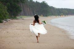 De bruid van de vluchteling Stock Fotografie