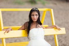 De bruid van de vluchteling Royalty-vrije Stock Foto's