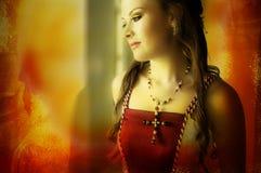 De bruid van Grunge Royalty-vrije Stock Foto's