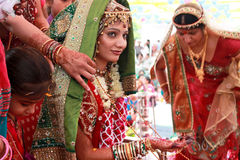 De bruid van India - India Stock Foto's