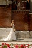 De bruid wacht Stock Foto