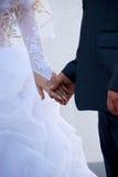 De bruidegom en de bruid Stock Foto's