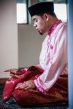 De Bruidegom Praying royalty-vrije stock fotografie