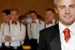 De Bruidegom van het huwelijk Royalty-vrije Stock Fotografie