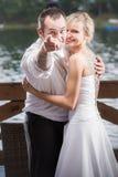 De bruidegompunten aan u Royalty-vrije Stock Afbeelding