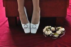 De bruiden bekronen Royalty-vrije Stock Foto