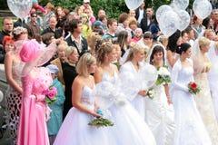 De bruiden paraderen 2010 Stock Afbeelding