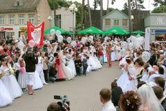 De bruiden paraderen 2010 Stock Fotografie