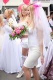 De bruiden paraderen 2010 Stock Foto