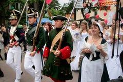 De bruiden paraderen 2010 Stock Afbeeldingen