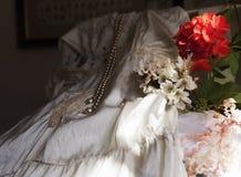 De bruids beste gift van ` s en antic uitzet Stock Foto's