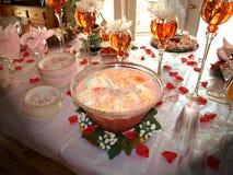 De bruids Stempel van de Douche Stock Foto's
