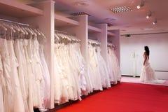 De bruids winkel. royalty-vrije stock afbeelding