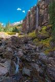 De bruidssluier valt Telluride Colorado de V.S. Royalty-vrije Stock Afbeelding