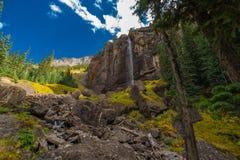 De bruidssluier valt Telluride Colorado de V.S. Stock Afbeeldingen