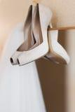 De bruidssluier van het huwelijk Stock Afbeelding