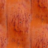 De bruine abstracte achtergrond van ijzer naadloze grunge Stock Afbeelding