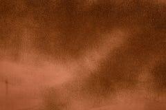 De bruine achtergrond van de grungemuur Stock Foto's